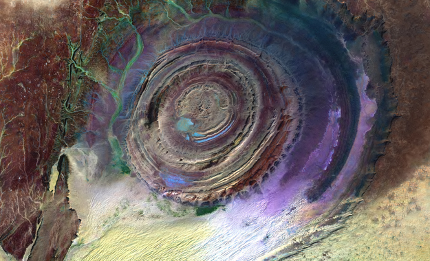 14. The Richat Structure - Mauritania