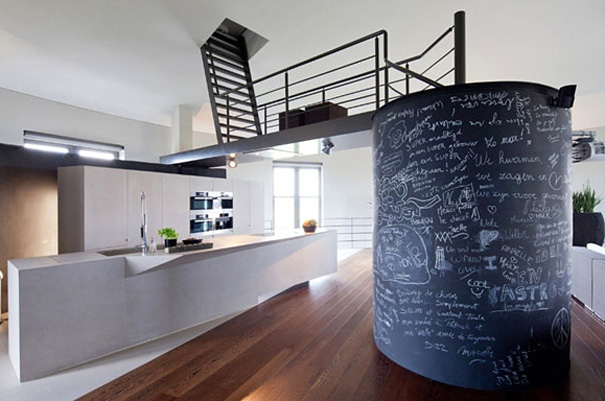 Old Water Tower Turned Into Modern Home (2)