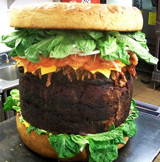 Absolutely Ridiculous Burger