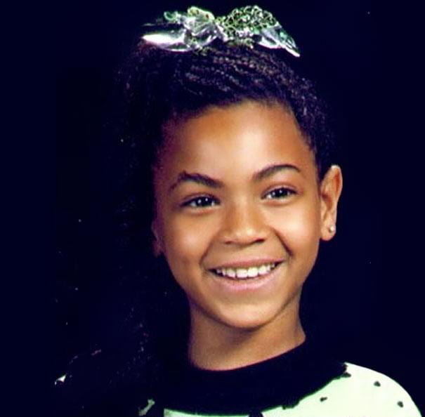 Beyonce Aged 7