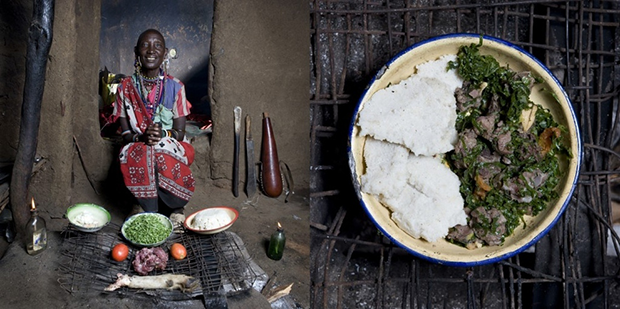 18.-Kenya-Mboga-and-orgali-(white-corn-polenta-with-vegetables-and-goat-meat)