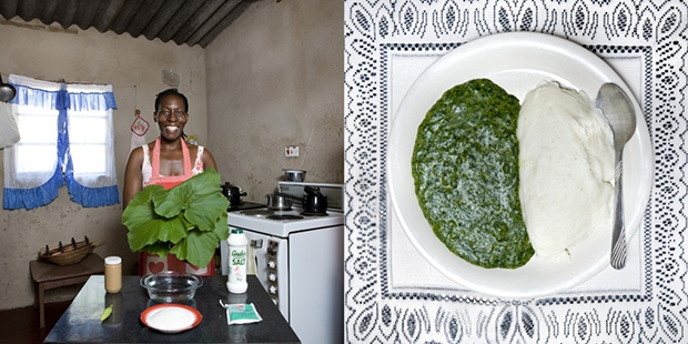 34.-Zimbabwe-Sadza-(white-maize-flour)-and-pumpkin-leaves-cooked-in-peanut-butter