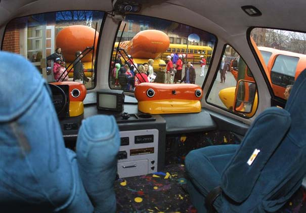 Oscar Mayer Wieners Vist Chicago school