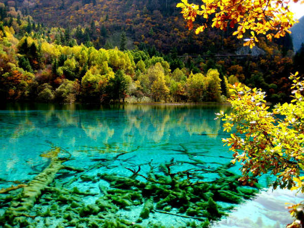 3. Jiuzhai Valley National Park