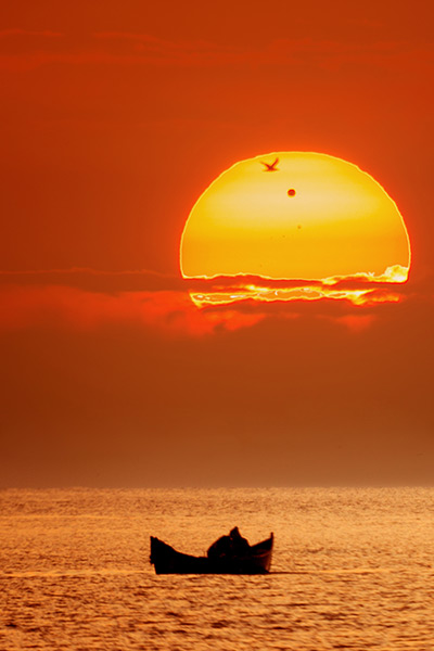 Venus Transit at the Black Sea