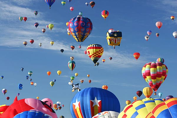 1. Albuquerque International Balloon Fiesta