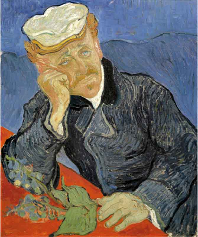 Portrait of Dr Gachet, by Vincent van Gogh (1853-1890). (Photo by DeAgostini/Getty Images)