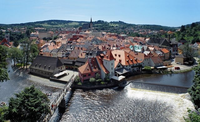 Cesky-Krumlov-in-the-Czech-Republic