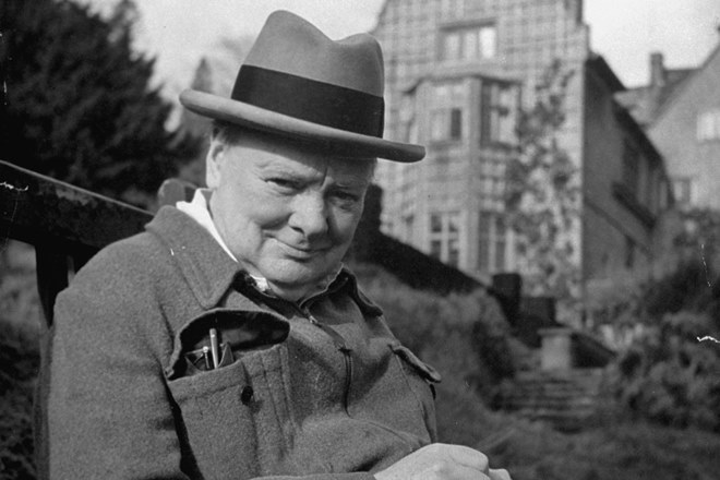 Britain's Prime Minister Winston Churchill.  (Photo by Hans Wild//Time Life Pictures/Getty Images)